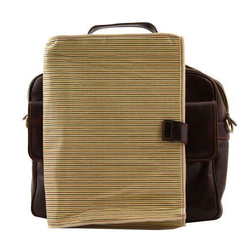 Reggio Emilia Esclusiva cartella porta notebook in pelle 1 scomparto Nero TL140889