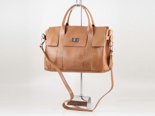 Eva Leather handbag - Small size Forest Green TL140919