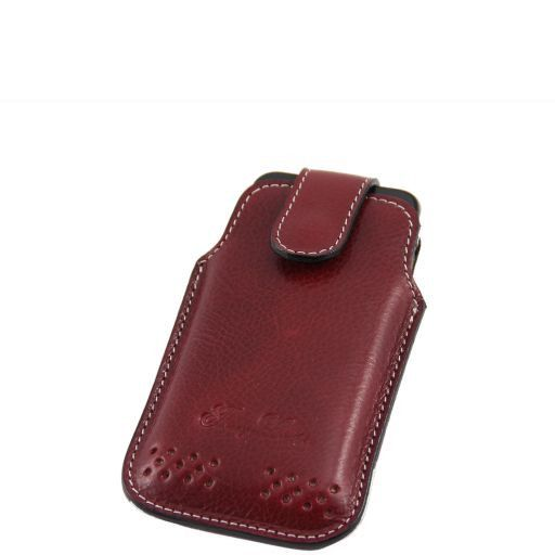 Leather iPhone3 iPhone4/4s holder Красный TL140983