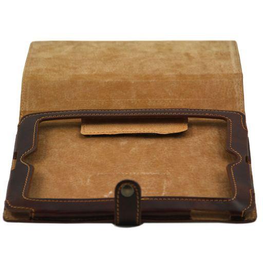 Leather iPad case Schwarz TL141001
