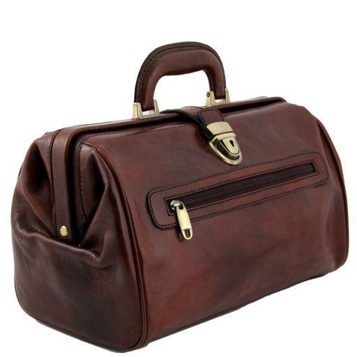 Canova Esclusiva borsa medico in pelle Marrone TL141067