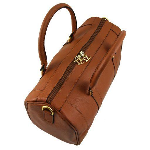 TL Bag Leather duffel bag Коньяк TL141079