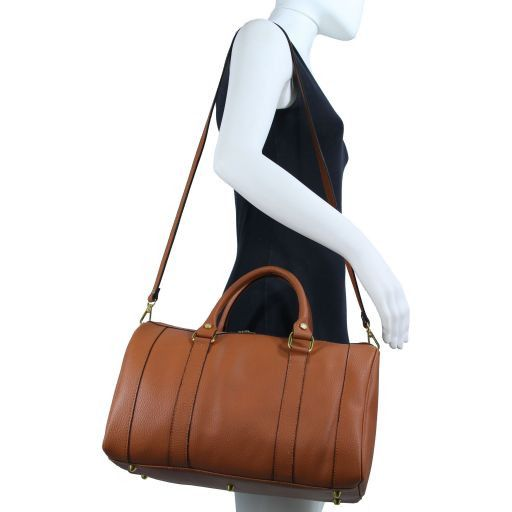 TL Bag Bauletto medio in pelle Talpa scuro TL141079