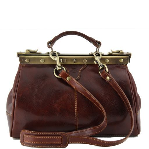 Michelangelo Doctor leather bag Коричневый TL141084