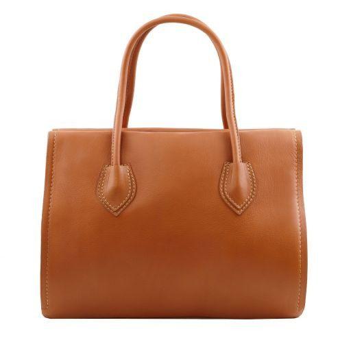 TL Bag Borsa morbida con nappa e tracolla Verde Foresta TL141091