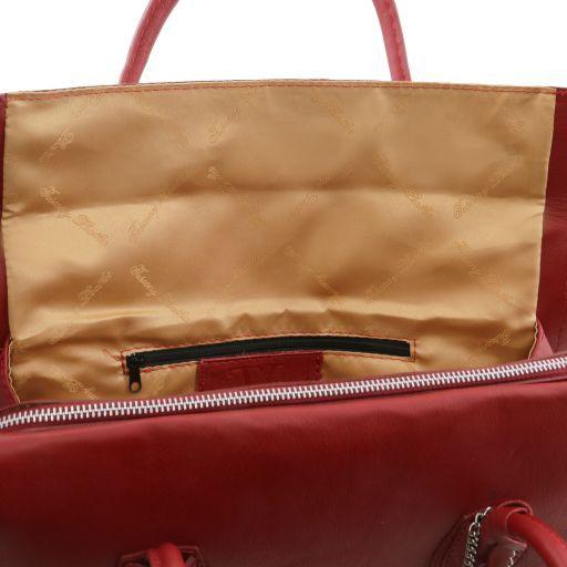 TL Bag Borsa morbida con nappa e tracolla Nero TL141091