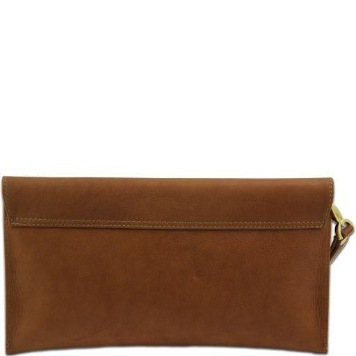 TL Bag Pochette in pelle Turchese TL141109