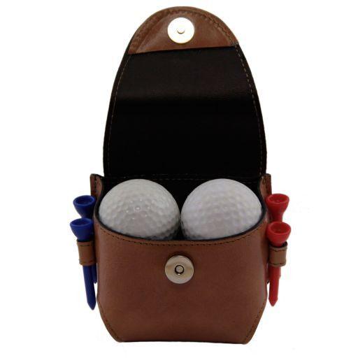 Esclusivo porta palline da golf 4 palline Arancio TL141161