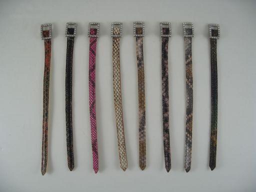 Esclusivo braccialino in pitone Multicolor 1 TL140739