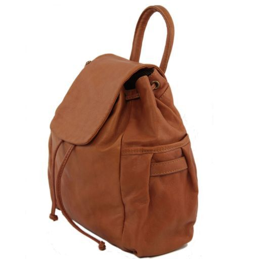 Kathmandu Leather backpack Brown TL141202