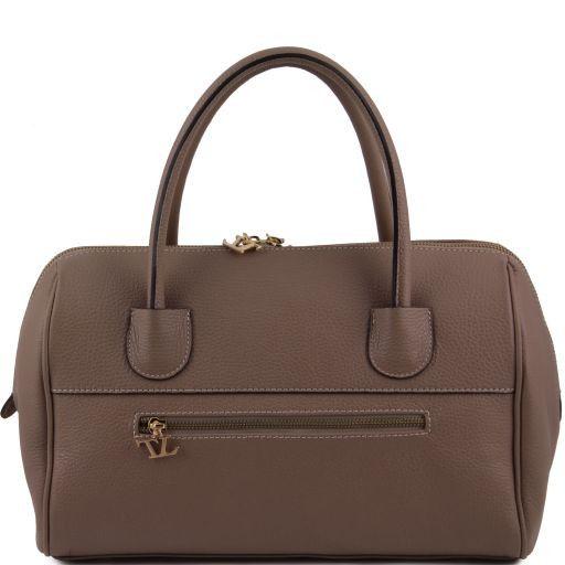 TL Bag Bauletto in pelle con accessori oro Multicolor 1 TL141210