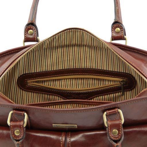 Volterra Cartella in pelle da donna con tasche davanti Testa di Moro TL141221