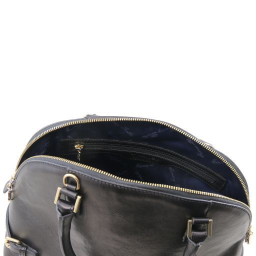 TL Bag Borsa a mano in pelle con fibbie Beige TL141235