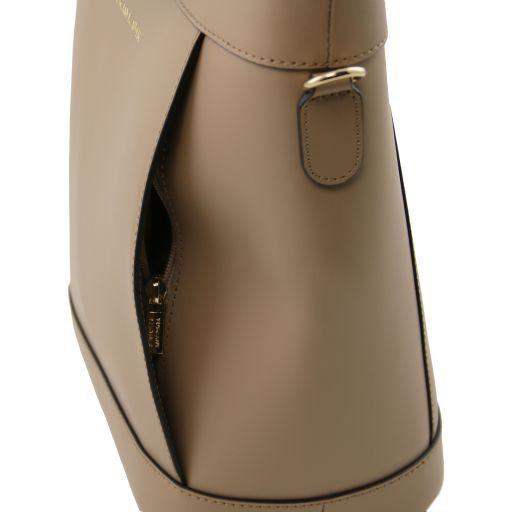 Demetra Borsa secchiello da donna in pelle Talpa chiaro TL141410