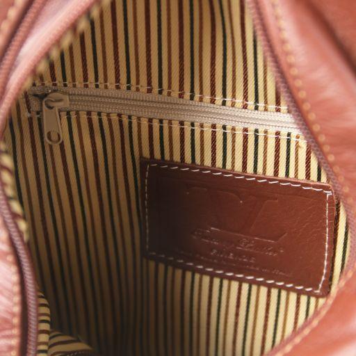 Shanghai Sac à dos en cuir Corail TL141433