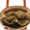 Olga Borsa shopping in pelle Nero TL141483