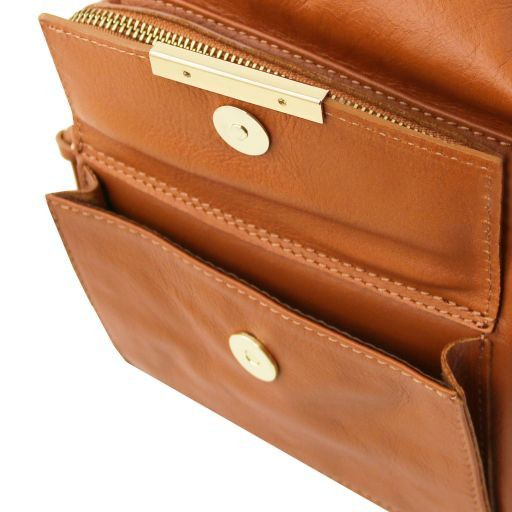 TL Bag Borsa donna in pelle convertibile a zaino Bordeaux TL141535