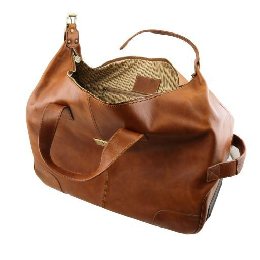 Barbados Borsa-Trolley in pelle Naturale TL141537