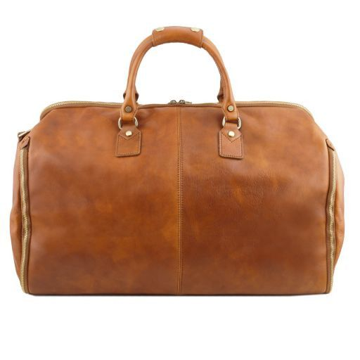 Antigua Reisetasche/Kleidersack aus Leder Dunkelbraun TL141538