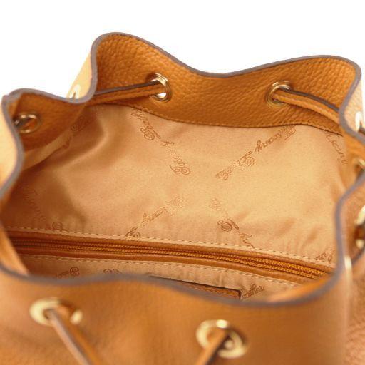 Sapporo Zaino donna in pelle morbida Cognac TL141553