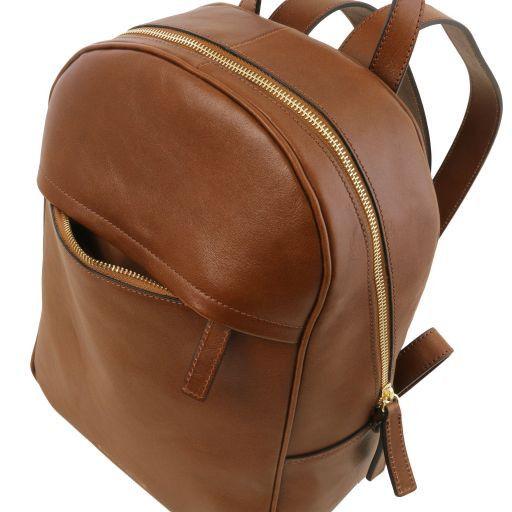TL Bag Sac à dos pour femme en cuir Rouge TL141604