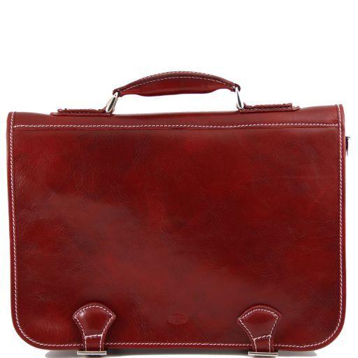 Ancona Cartella in pelle Rosso TL140866