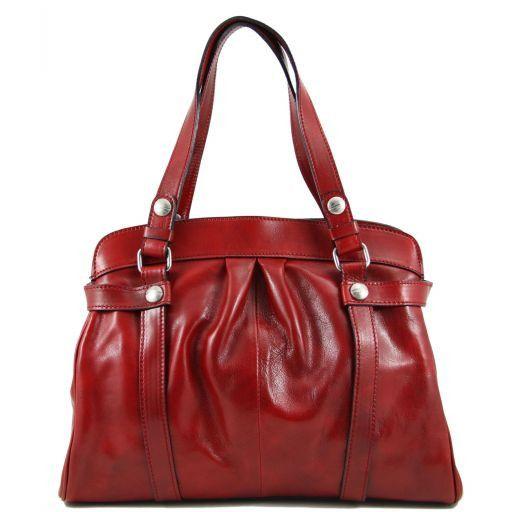 Vivienne Borsa donna in pelle Rosso TL140894