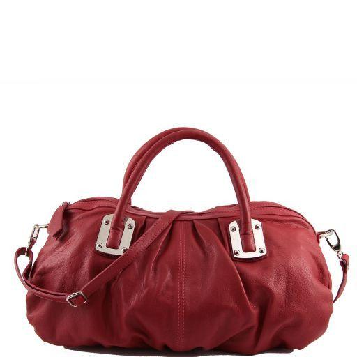 Nora Borsa bauletto in pelle Rosso TL140934