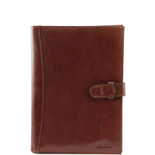 Socrate Exclusive Leather Portfolio Brown TL140955