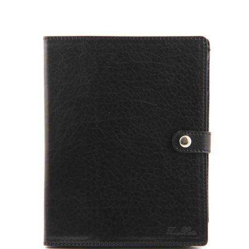 Esclusivo porta iPad in pelle Nero TL141001