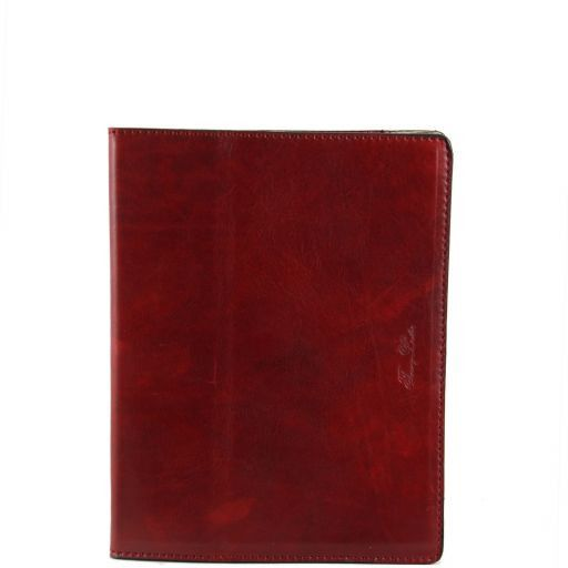Leather iPad case Rot TL141001