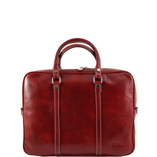 Prato Esclusiva cartella porta notebook in pelle Rosso TL141072