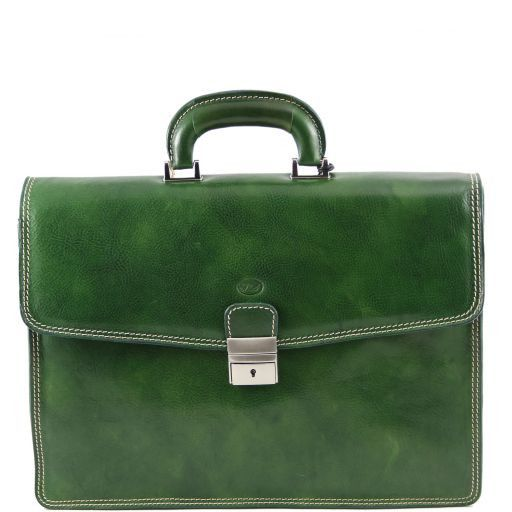Amalfi Cartella in pelle Verde TL141075
