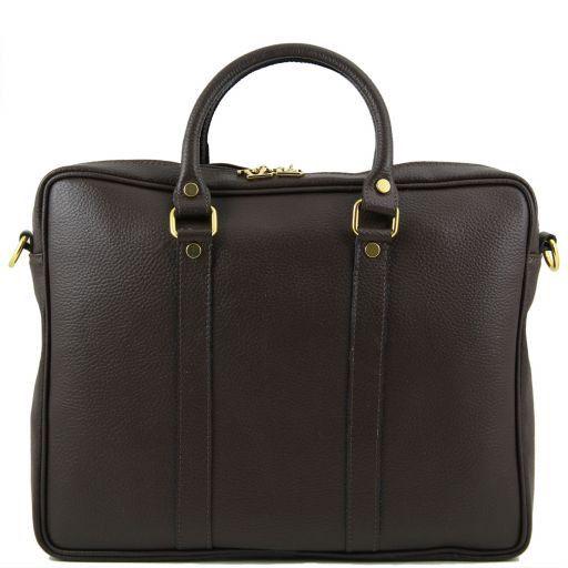 TL Bag Bolso Executive en piel Marrón oscuro TL141077