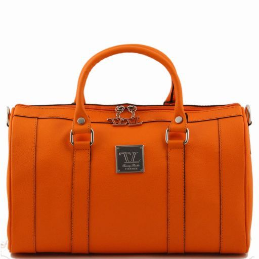TL Bag Leather duffel bag Оранжевый TL141079