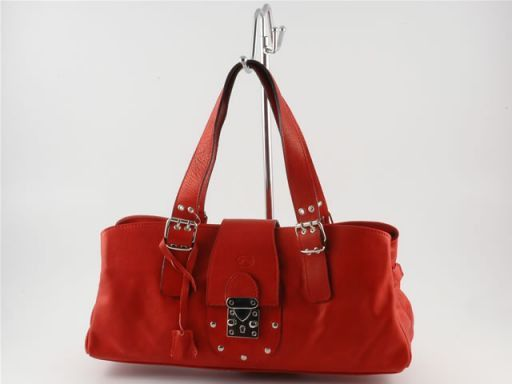 Sandra Lady leather bag Red TL4095