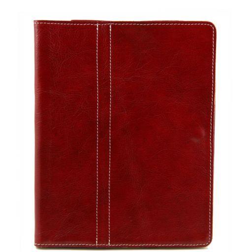 Esclusivo porta iPad in pelle Rosso TL141112