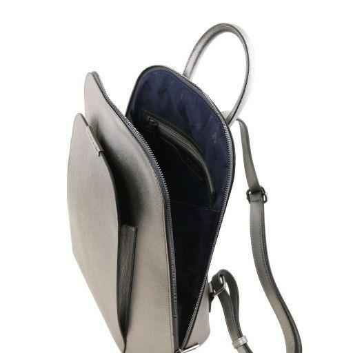 TL Bag Zaino donna in pelle Saffiano Ferro TL141631