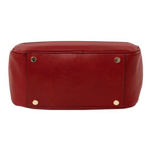 TL Bag Zaino donna in pelle Rosso TL141604