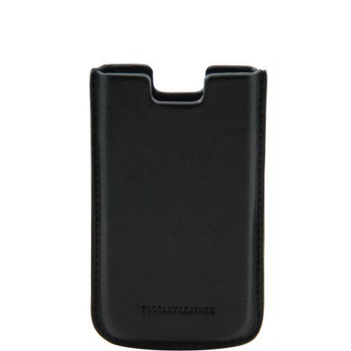 Esclusivo porta iPhone4/4s in pelle Nero TL141124