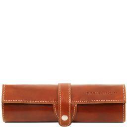 Эксклюзивный кожаный футляр для ручки Мед TL141620