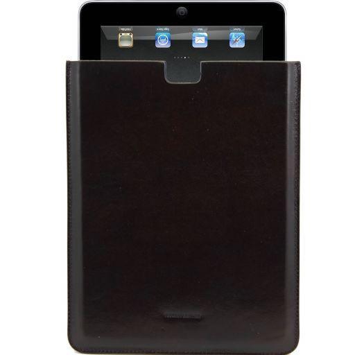 Esclusivo porta iPad in pelle Testa di Moro TL141129