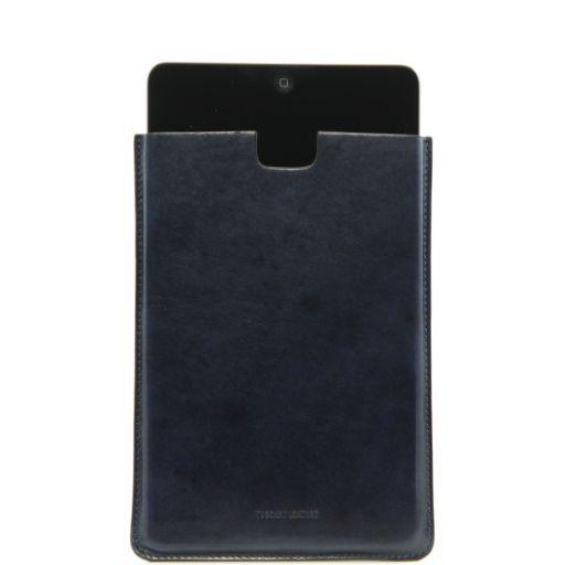 Porta iPad Mini in pelle Blu TL141141