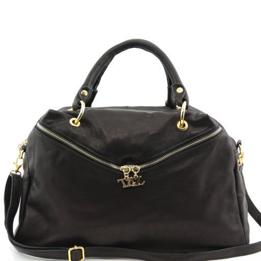Audrey Duffle leather bag Черный TL141148