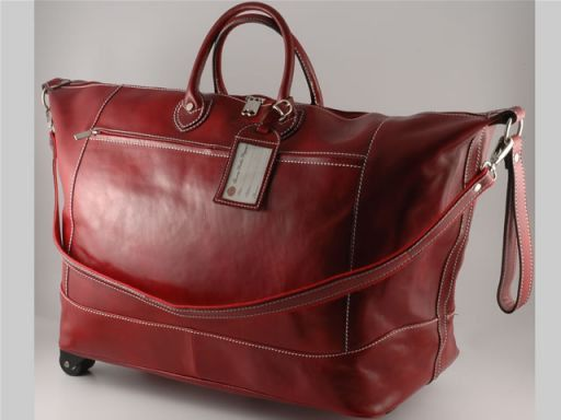 Sharm El Sheik Trolley leather bag Красный TL10133