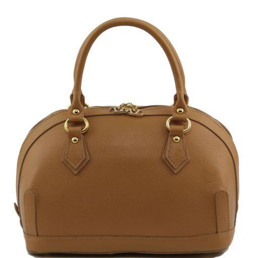 """TL Bag kleines """"Bauletto"""" aus Leder Cognac TL141158"""