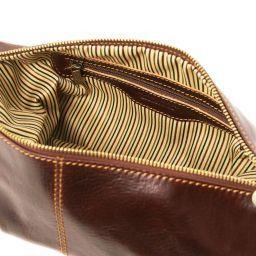 Roxy Beauty case in pelle Nero TL140349