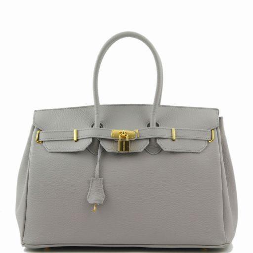 TL Bag Borsa a mano media con accessori oro Grigio chiaro TL141174