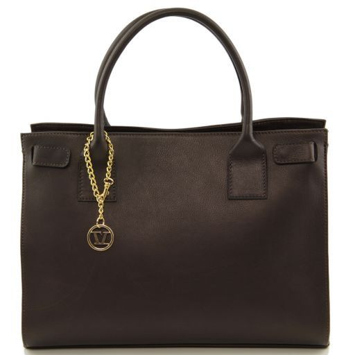 TL Bag Borsa morbida con pendente dorato Testa di Moro TL141191