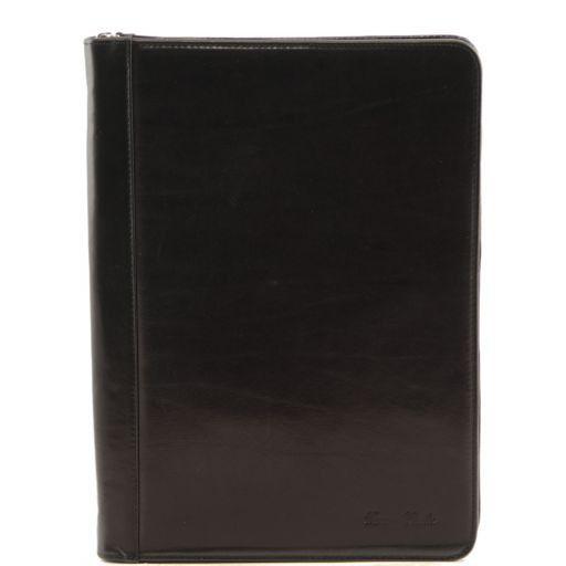 Luigi XIV Portadocumentos en piel Negro TL141194
